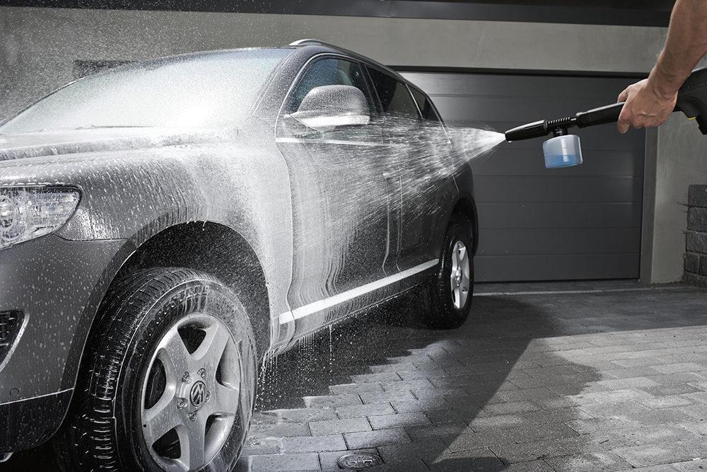 Как помыть машину на мойке для самообслуживания?