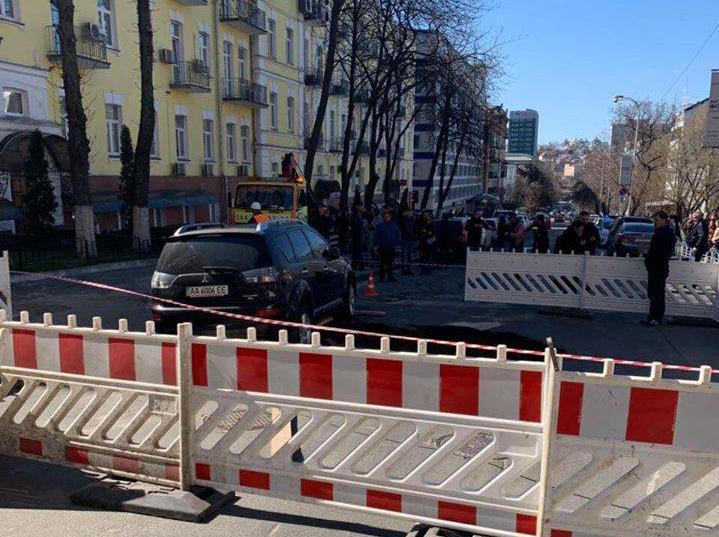 Из-за аварии на Печерске центр Киева остался без воды и отопления