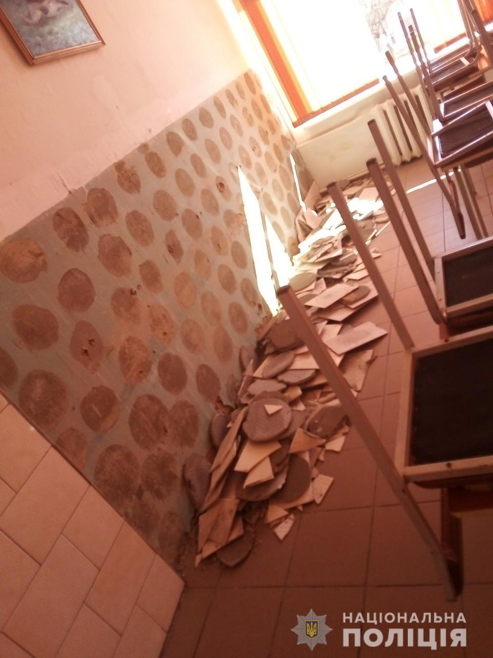 В школе на Киевщине ребенок получил скальпированную рану головы