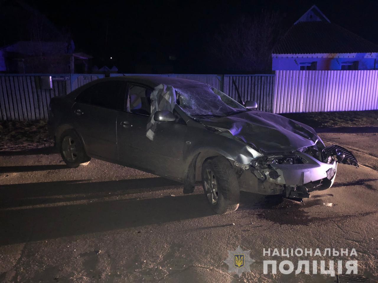 Под Киевом подросток на родительском авто насмерть переехал молоденьких девочек