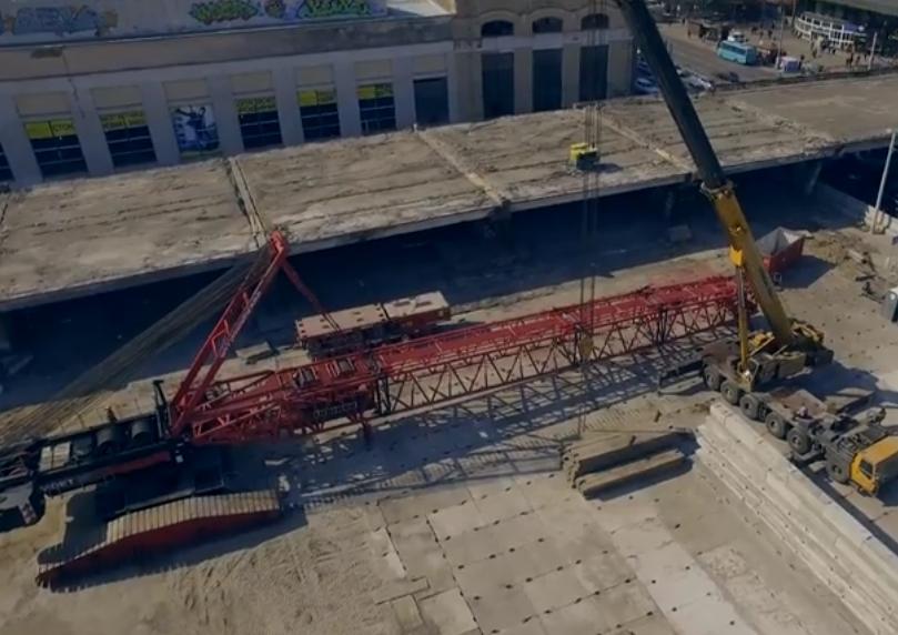 Кличко анонсировал завершение работ по демонтажу Шулявского моста