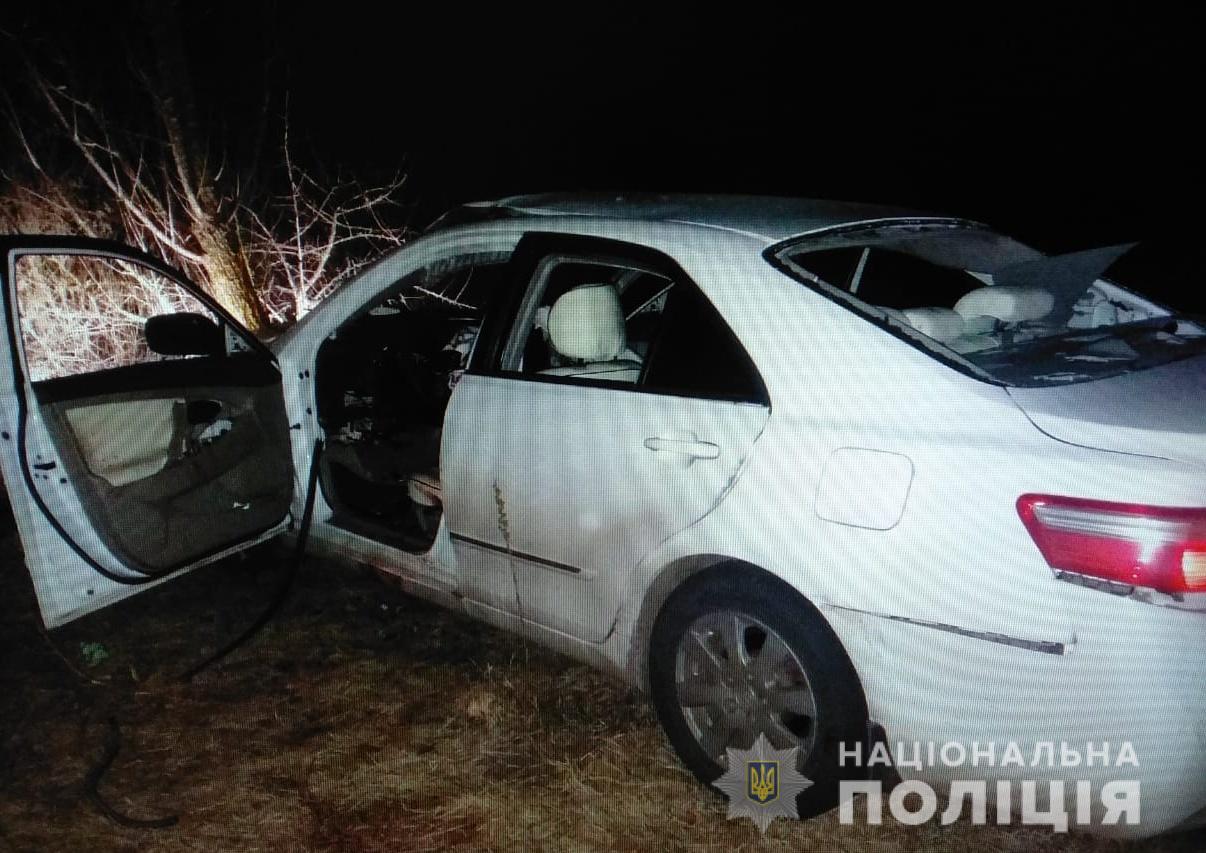 Под Киевом водитель взорвался в автомобиле на скорости 150 км/ч