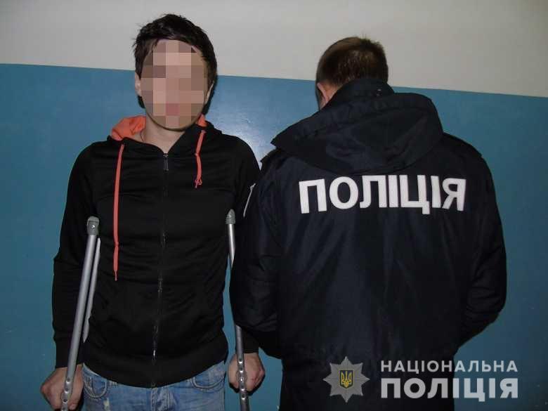 В Киеве пьяный отец решил, что ему с сыном пора в тюрьму
