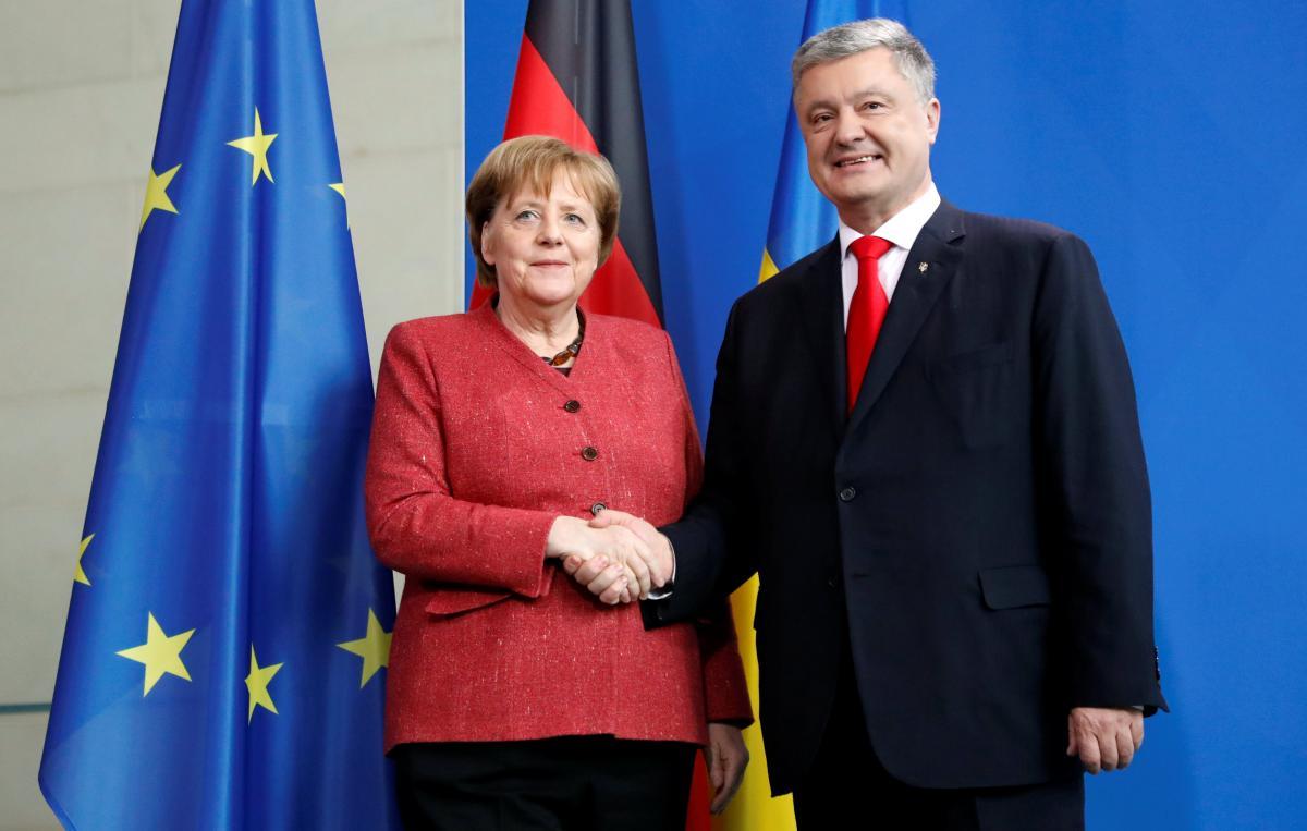 Меркель выразила поддержку Порошенко, – эксперт
