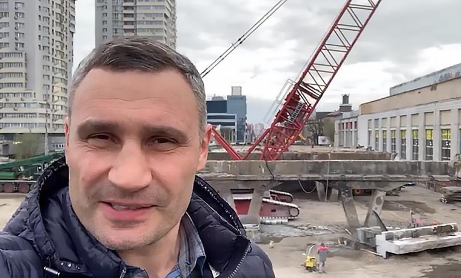 Кличко хочет, чтобы новый Шулявский мост построили очень быстро