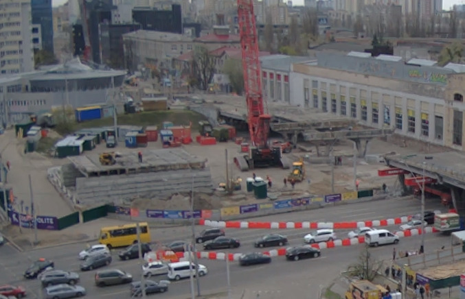 Стало известно, когда полностью снесут Шулявский мост