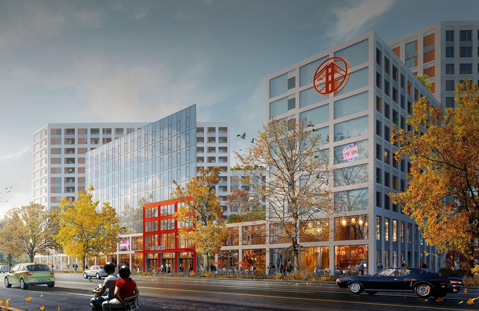 Жилой комплекс SAN FRANCISCO Creative House: для комфортной жизни, отдыха и творчества