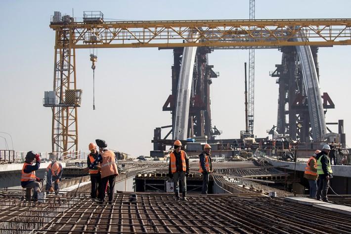Кличко: Киев активно вкладывает средства, чтобы достроить Подольско-Воскресенский мост