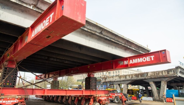 Шулявский мост демонтируют до конца апреля