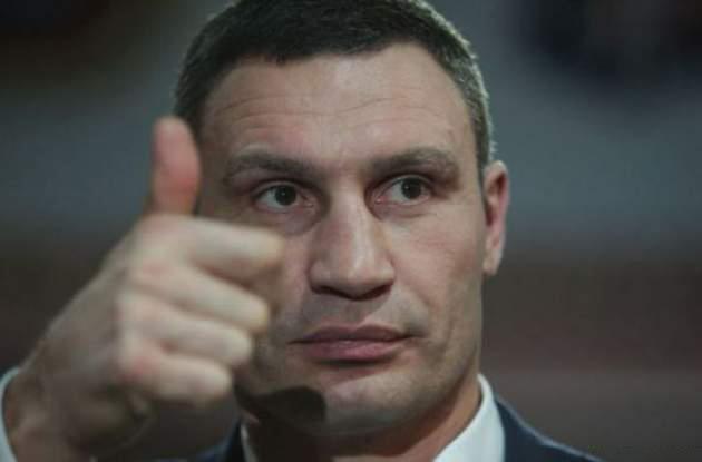 Кличко поздравил Зеленского с победой на президентских выборах