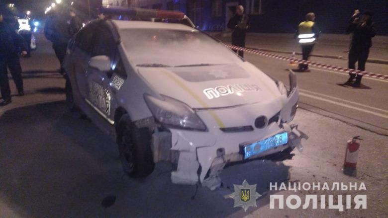 Пьяному киевлянину, который сбил патрульную, грозит пожизненный срок