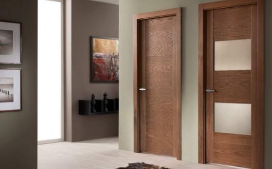 Шпонированные межкомнатные двери: плюсы и минусы