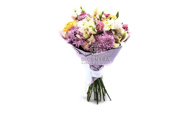 Закажите букет цветов, чтобы подарить радость