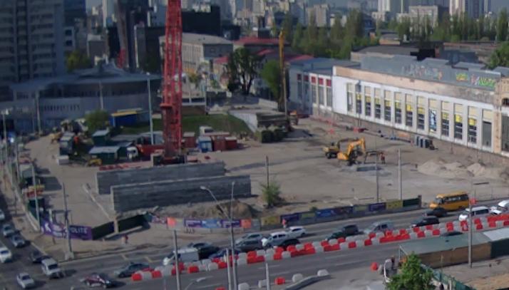 Шулявский мост демонтирован, начинается строительство нового путепровода