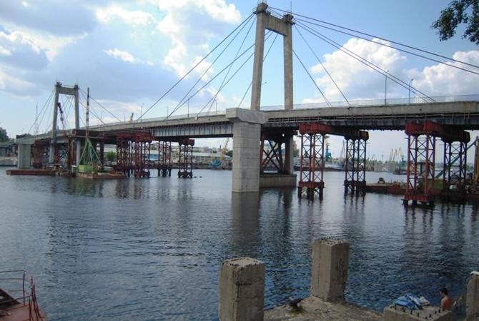 В Киеве демонтируют 56-летний мост через Днепр
