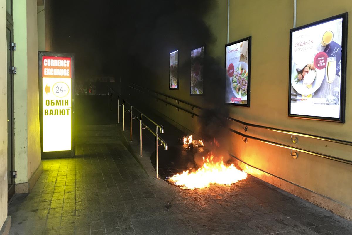 """Жительница Киева устроила """"теракт"""" в столичном развлекательном центре"""