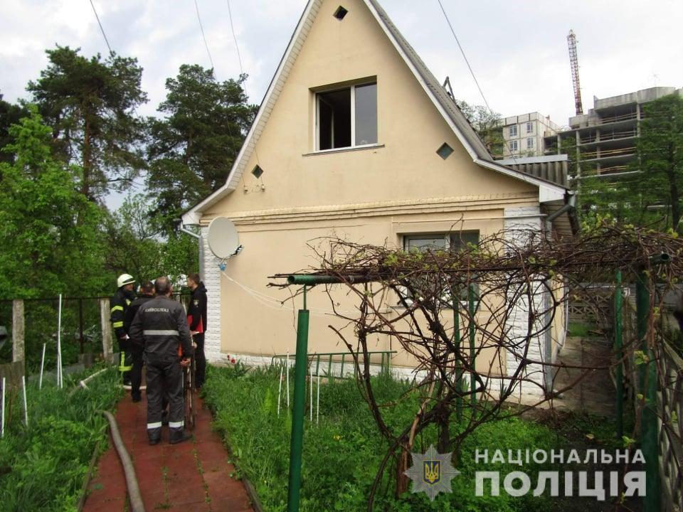 На Киевщине пожар в доме унес жизнь 5-летней незрячей девочки