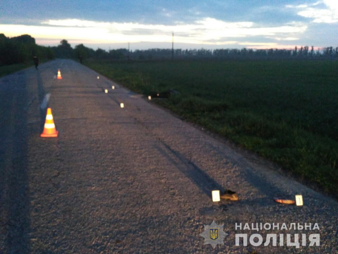 Под Киевом женщина-водитель насмерть переехала пешехода