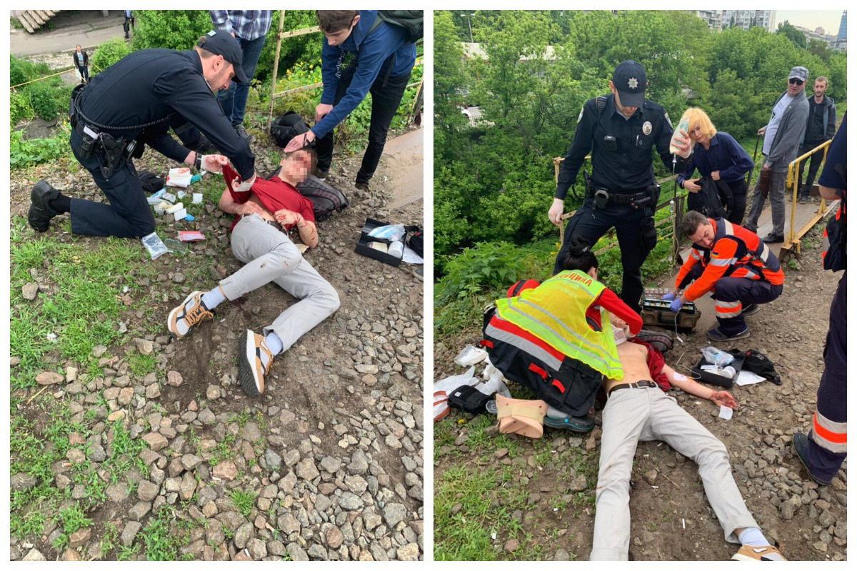 В Киеве подросток выжил после того, как его сбила электричка