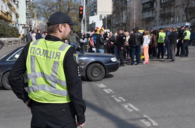 Центр Киева перекроют для транспорта из-за Зеленского