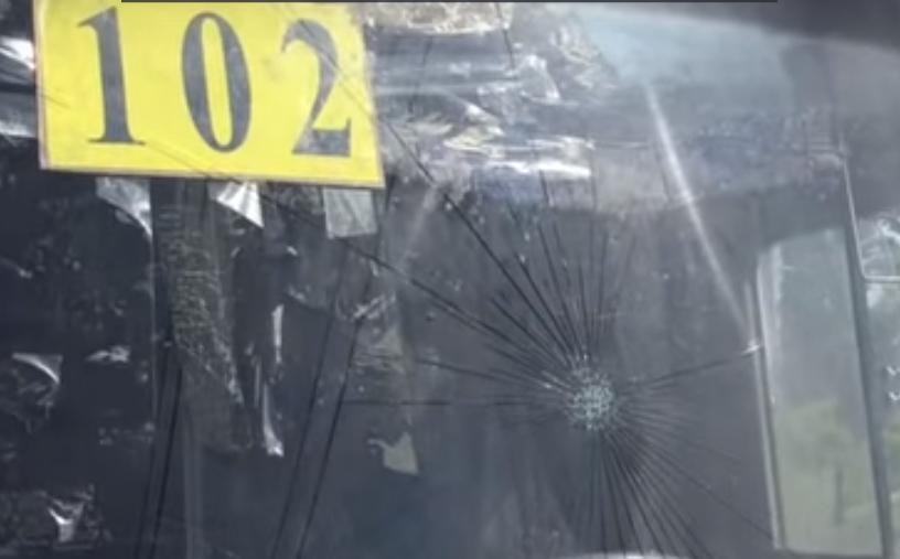 В Киеве водитель маршрутки чуть было не покалечил маленького ребенка
