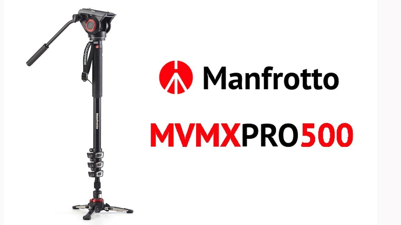 Монопод Manfrotto MVMXPRO500: где купить и в чем его особенности?
