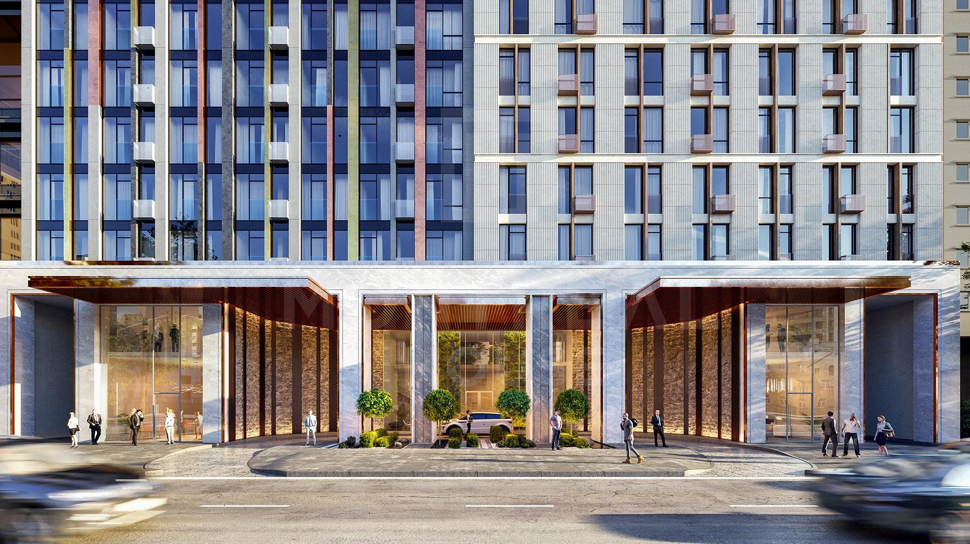 Жилой комплекс в центре Киева «Монреаль» — квартира будущего!