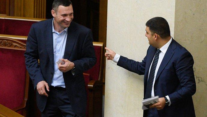 Премьер-министр рассказал, когда могут уволить Кличко