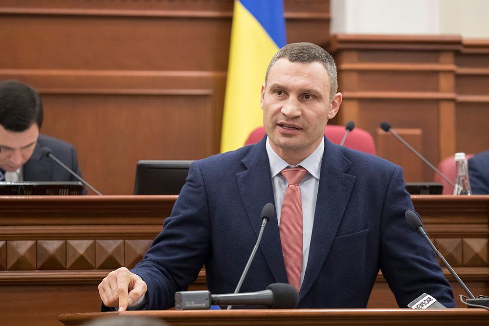"""Кличко заявил, что """"зеленые"""" пытаются сорвать сессию Киевсовета"""