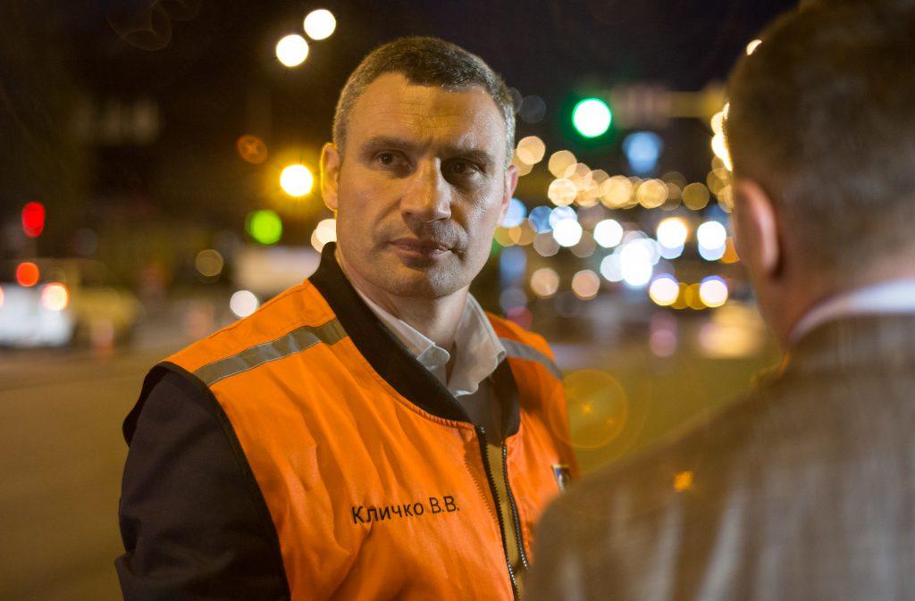 Кличко похвастался отремонтированными дорогами в Киеве