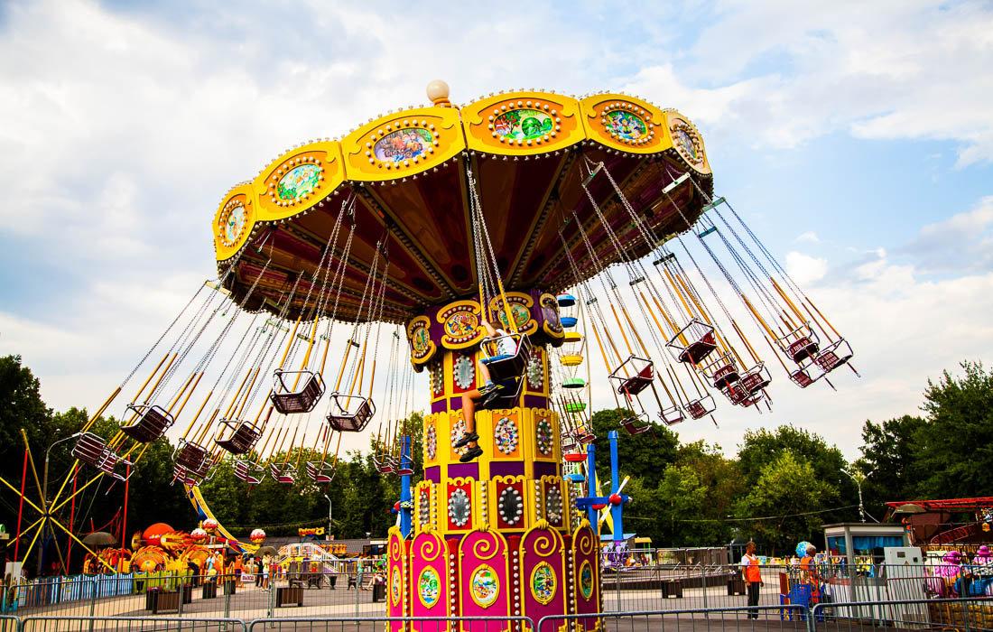 В Гидропарке построят современный парк аттракционов