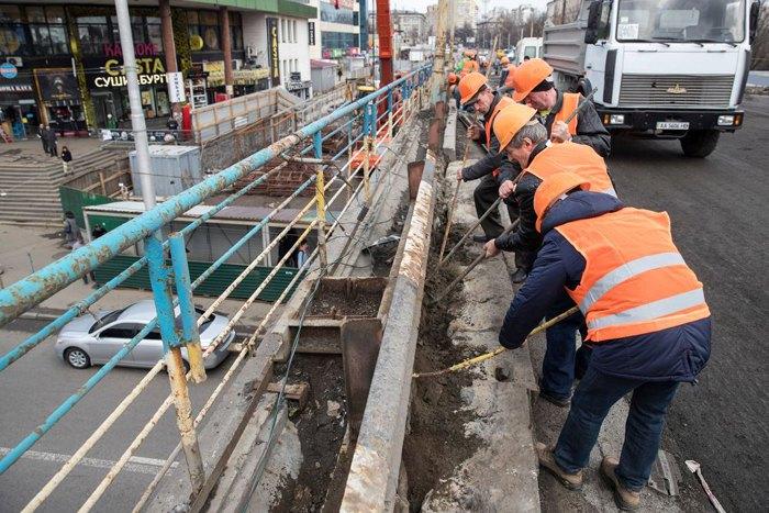 Кличко пообещал достроить Шулявский мост до конца 2019 года
