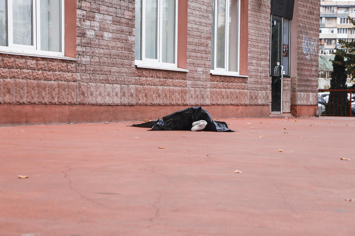 На Березняках сын стал очевидцем гибели своей матери