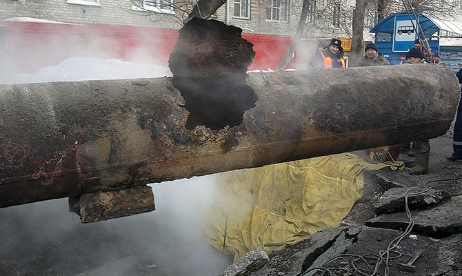 Кличко предупредил о проблемах с горячей водой и теплоснабжением