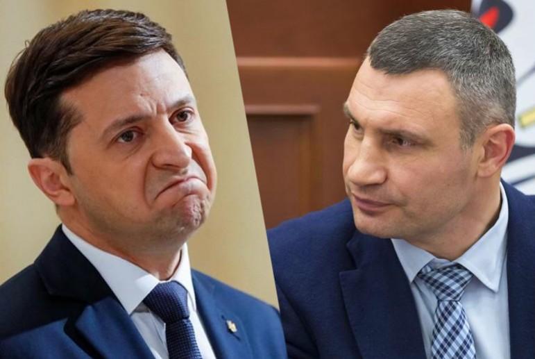 Зеленский намекнул о скором увольнении Виталия Кличко