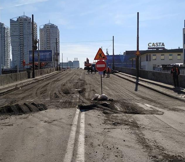 Шулявский мост: проспект Победы перекроют в рабочий день
