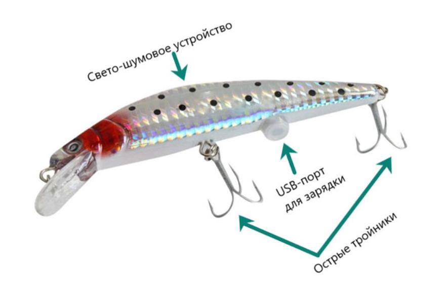 Рыбалка 21-го века: используем инновационный воблер!