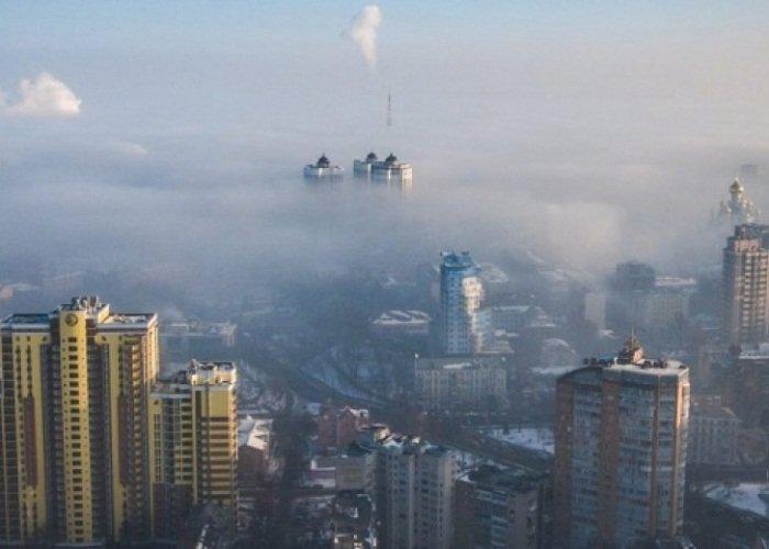 В Киеве зафиксировали загрязнение воздуха в три раза от допустимой нормы