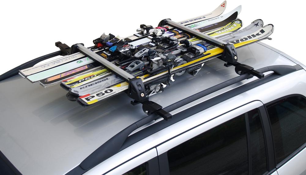 Крепления для лыж на авто: надежная фиксация снаряжения