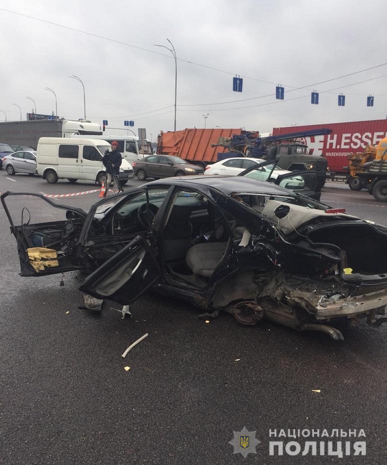 На Кольцевой дороге произошла страшная смертельная авария