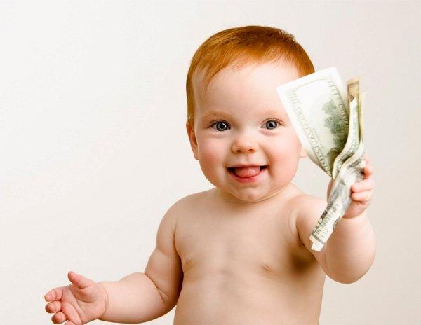 Киевлянам намерены платить деньги за рождение детей