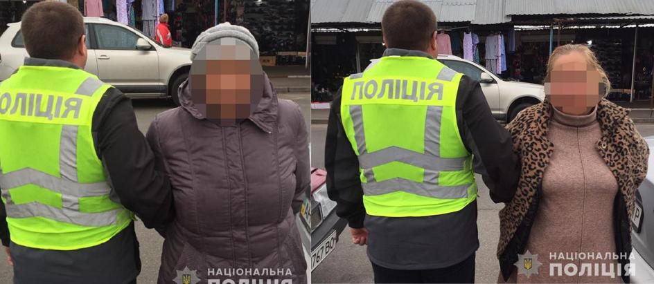 В Киеве на ярмарке поймали опытную пенсионерку-воровку