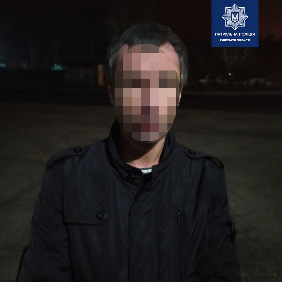 Под Киевом мужчина с ножом напал на детей из-за их поведения