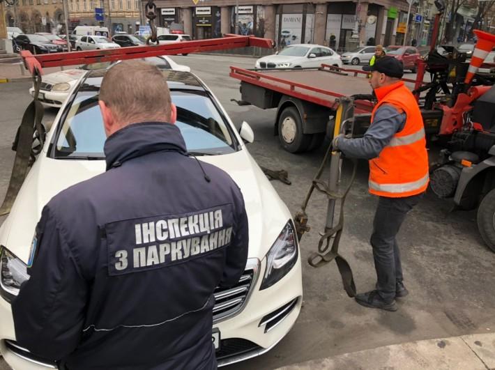 Паркующихся в неположенных местах будут штрафовать в автоматизированном режиме