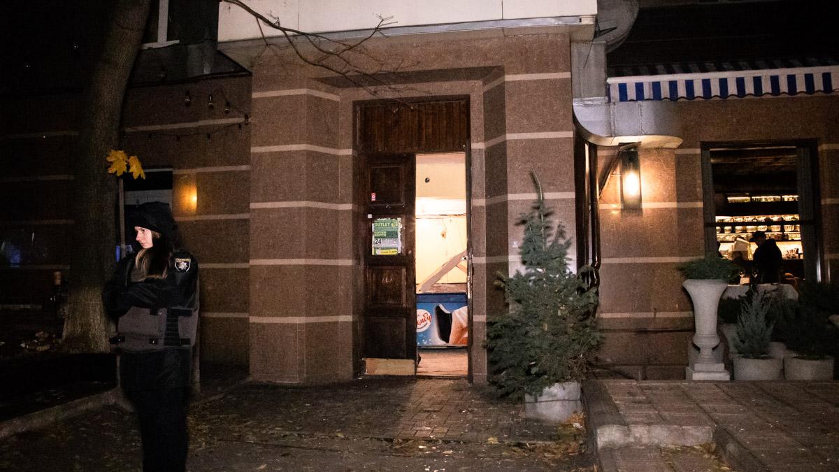 В центре Киева в жилом доме прогремел сильный взрыв