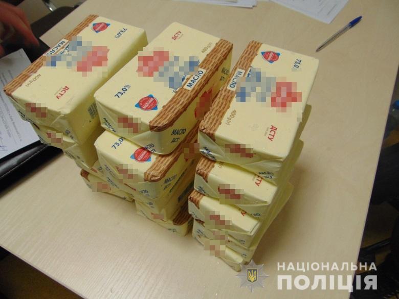 Полиция задержала киевлянку, которая хотела разбогатеть на масле