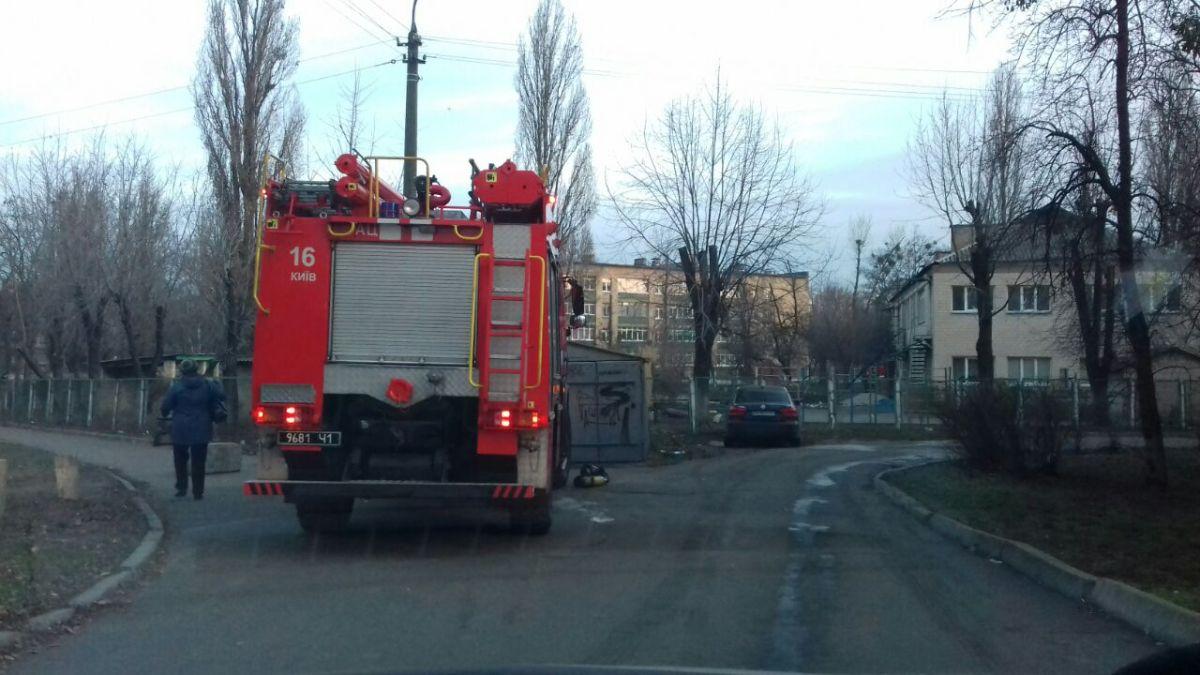 В Киеве загорелся детский сад. Есть жертвы