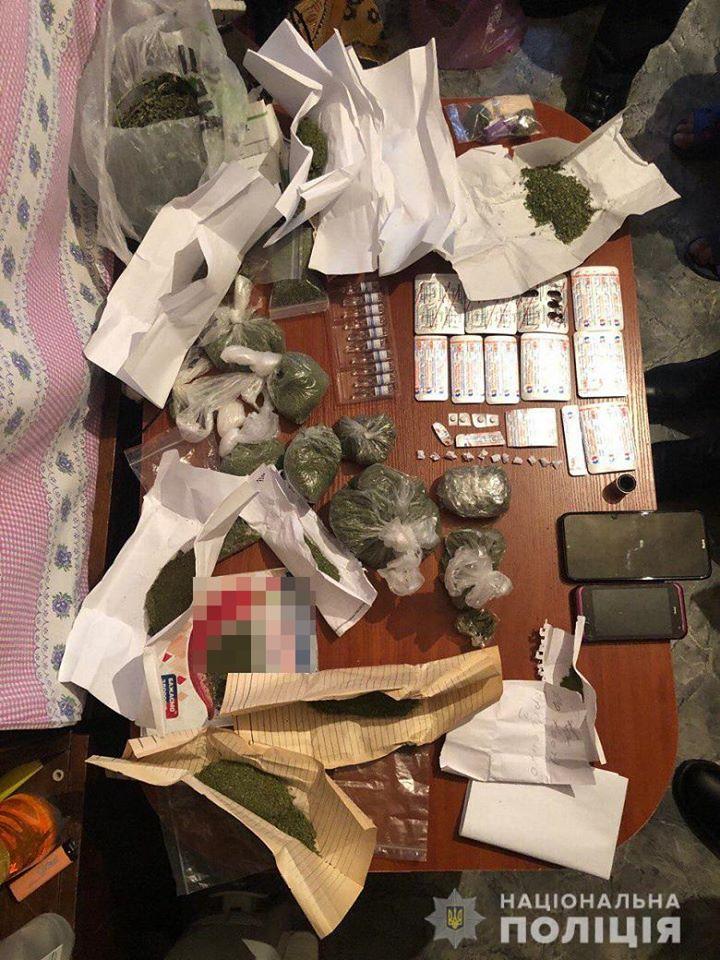 У киевлянки изъяли наркотики на сумму почти полмиллиона гривен