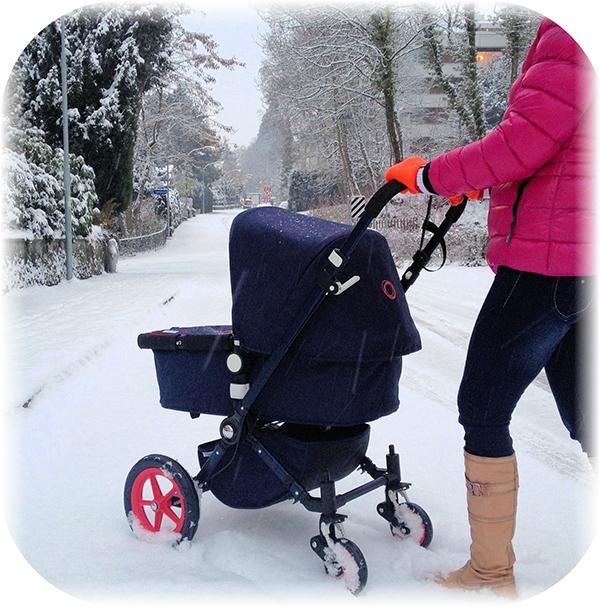 Как выбрать зимнюю детскую коляску - 5 простейших советов
