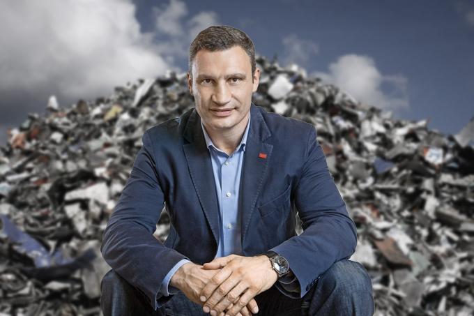 Кличко предложил построить возле Киева мусороперерабатывающие заводы